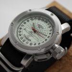 Russian 24-Hour Watch Submarine TYPHOON (Akula) Luminescent 47 mm Zulu