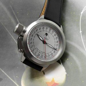 Russian 24 hour watch, Sputnik 1957 Classic Automatic 45 mm