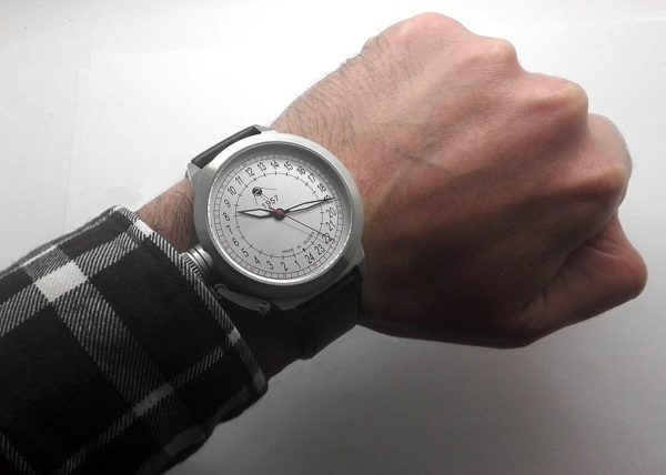 Russian 24-hours automatic watch Sputnik 1957 Classic 45 mm