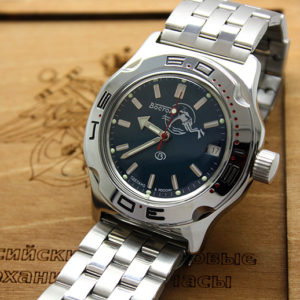 Russian automatic diver watch VOSTOK AMPHIBIAN 2416 / 100059