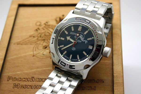 Russian automatic diver watch VOSTOK AMPHIBIAN 2416 / 100059