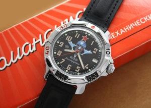 Russian Airborne Troops Vostok Komandirskie mechanical watch 811288