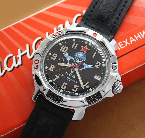 Russian Airborne Troops Vostok Komandirskie mechanical watch 811288