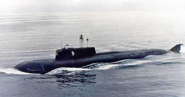 K-141 Kursk Russian submarine