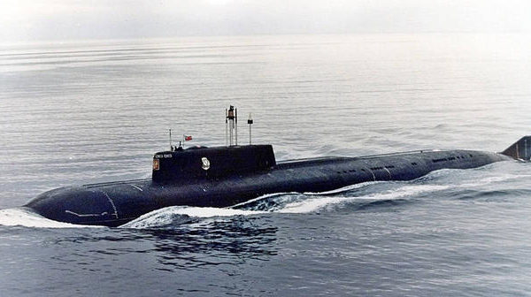 K-141 Kursk Russian submarine