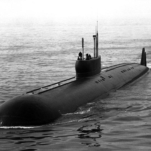 Submarine K-222 Anchar