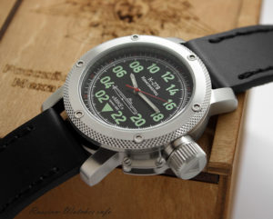 Russian Watch with 24-Hour Dial – Automatic – Submarine K-278 Komsomolets Black 47 mm