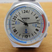 Russian Navy 24-Hour Watch Raketa 2623.H NOS 1988