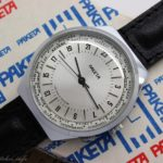 Russian 24-hours watch Raketa World Time 1992 NOS