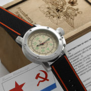 Russian watch with 24-Hour Dial – Automatic – Russian NAVY 47 mm