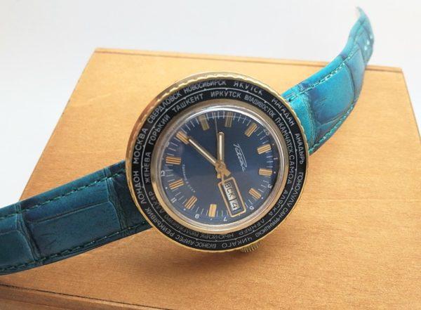 Raketa watch World Time USSR 1979