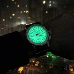 Russian 24 hour watch, Polar Automatic Luminous 47 mm