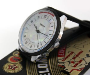 Russian 24-hours watch Raketa Navy Hologram 1993