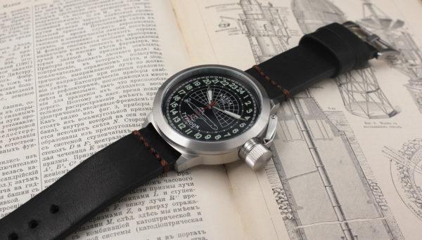 Russian 24-Hours Watch Submarine AKULA (Typhoon) 51 mm