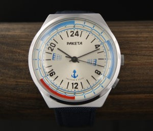 Russian Navy 24-Hour Watch Raketa 2623.H NOS USSR