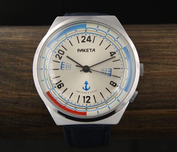 Russian Navy 24-Hour Watch Raketa 2623.H NOS USSR