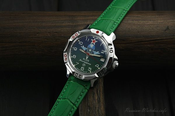 Vostok Komandirskie, Russian Airborne Troops watch, 811818