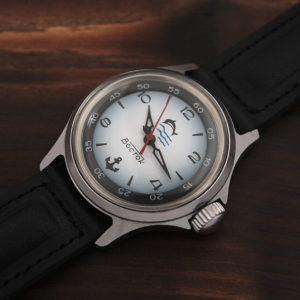Russian watch Vostok 2409A Dolphin USSR 1980s