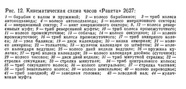 Russian Automatic Watch Raketa 2627 USSR
