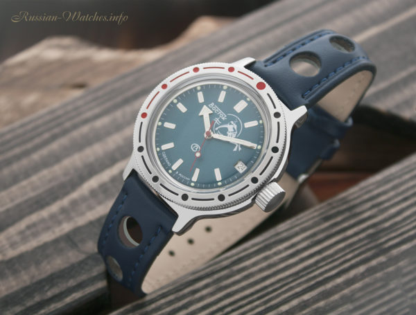 Russian automatic diver watch Vostok Amphibian Scuba Dude 2416 / 420059
