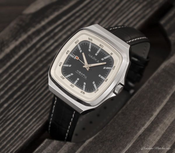 Soviet quartz watch Chaika 3056A USSR 1980s NOS