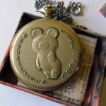 Russian pocket watch - Molnija - Olympic Games