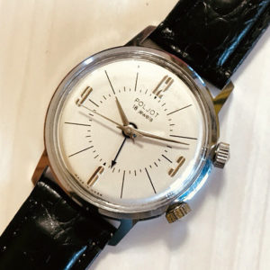 Poljot 2612 signal-type alarm watch USSR 1970s