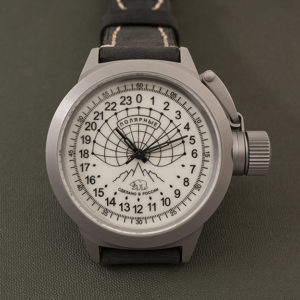 Russian 24 hour watch, Polar Camp Barneo 45 mm