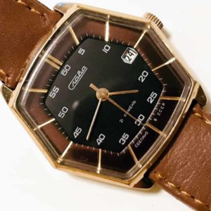 Slava watch, hexagon USSR 1980s