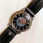 Vintage Soviet mechanical wrist watch Sputnik, 1MWF USSR 1957