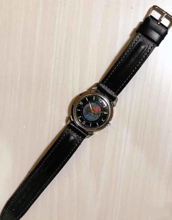 Vintage Soviet mechanical wrist watch Sputnik, 1MWF USSR 1957