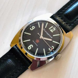 Vostok Komandirskie, military watch USSR 1970s