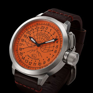 Russian 24 hour watch, Polar Bear 52 mm