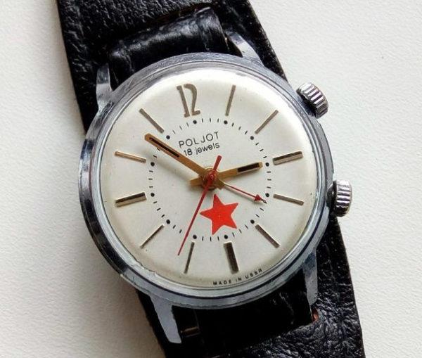 Poljot watch, Alarm, USSR 1970s