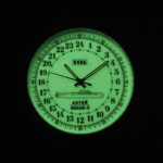 Russian 24 hour watch, Antey Submarine, Luminous 45 mm (rubber)
